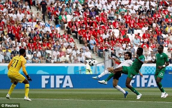 Pha ghi bàn mở tỷ số của Salah