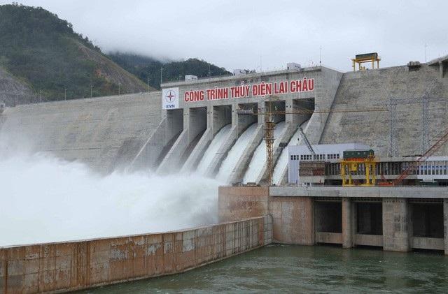 Nhà máy Thủy điện Lai Châu (Ảnh: EVN).