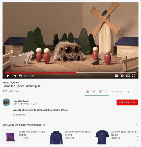 Nhiều người kiếm tiền bằng các quảng cáo trên YouTube.