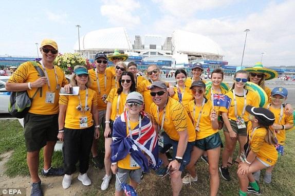 Niềm tin của cổ động viên Australia vào đội nhà là rất lớn