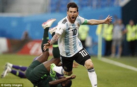 Messi đã giải tỏa được nhiều áp lực