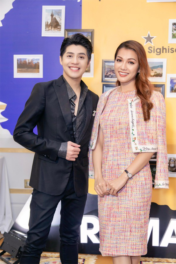 Hoa hậu Thái Nhiên Phương tinh tế dự sự kiện.