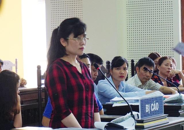 Bị cáo Nguyễn Thị Lam