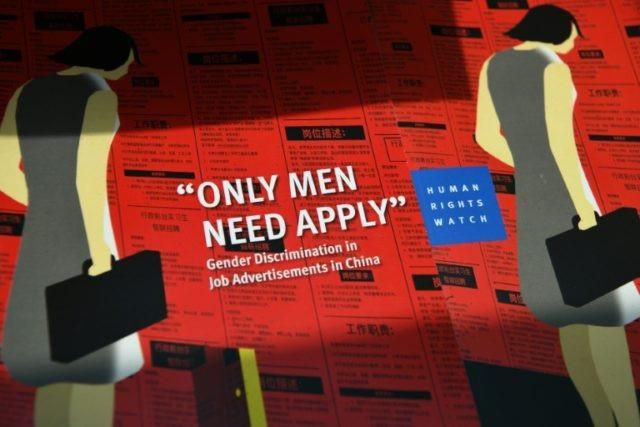 Trung Quốc: Phân biệt giới trong lao động ngày càng trầm trọng - 1
