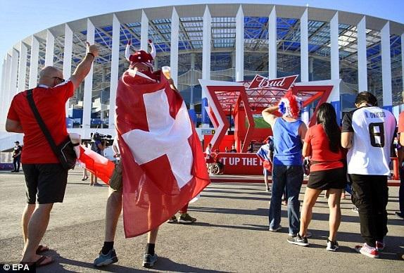 Niềm tin của cổ động viên Thụy Sỹ đặt vào cầu thủ nhà