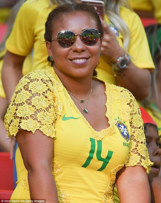 Isabele da Silva là bà xã của hậu vệ Thiago Silva.