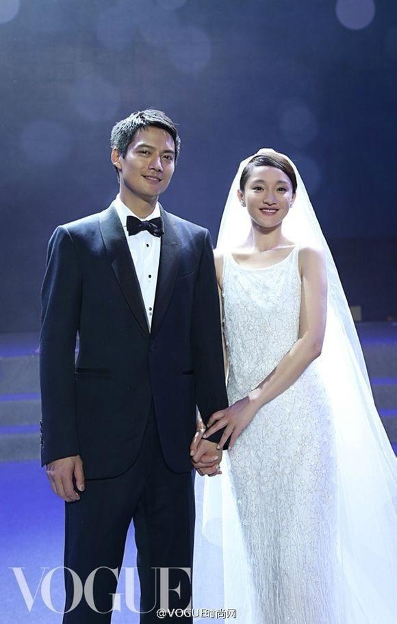 Châu Tấn và chồng cũ, Cao Thánh Viễn, từng có hôn lễ ngọt ngào vào năm 2014 cùng những lời hứa hẹn lãng mạn trong giai đoạn đầu mới kết hôn.