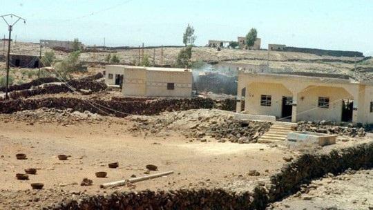 Quân đội Syria đã tái chiếm một phần khu vực al-Lujat với sự hỗ trợ của máy bay Nga. Ảnh: Reuters