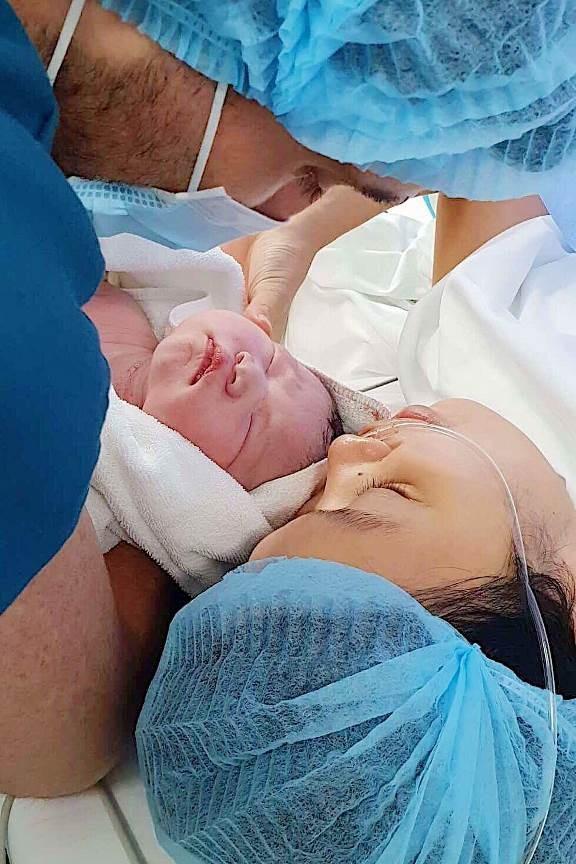Những điều đặc biệt bên trong căn phòng nơi siêu mẫu Hà Anh hạ sinh con gái đầu lòng - 10