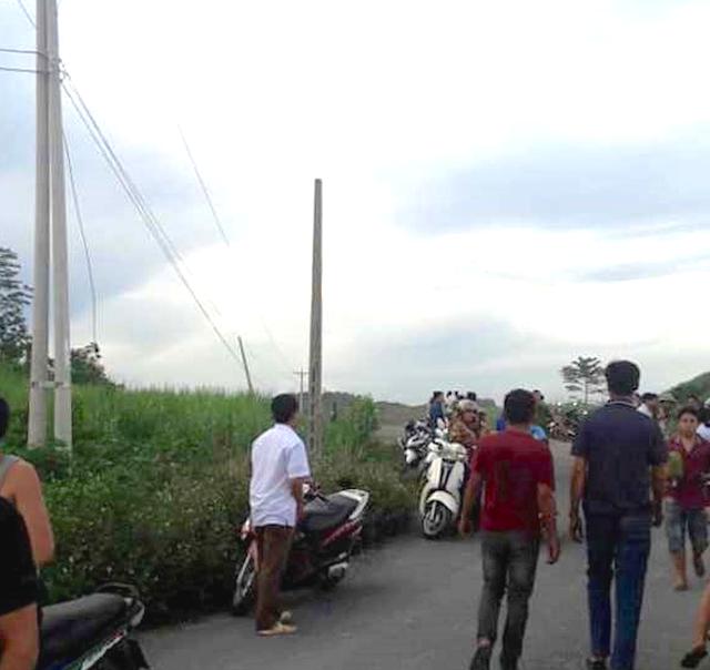 Nơi diễn ra vụ tai nạn lao động đáng tiếc. Ảnh: Nguyễn Duy