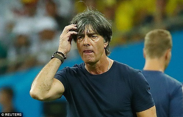 Đội tuyển Đức của HLV Jaochim Low đã hết bài?