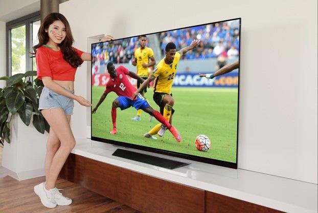 Các dòng TV OLED LG có độ mỏng kỳ lục chỉ 0,5cm đem đến một thiết kế tinh tế, ấn tượng