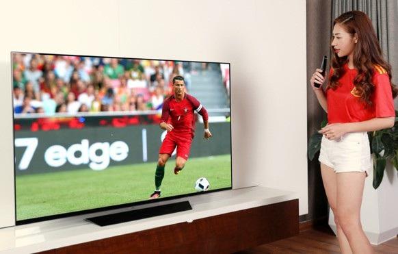 Tương tác bằng giọng nói với một số mẫu TV cao cấp tích hợp trí tuệ nhân tạo AI ThinQ đem lại trải nghiệm thú vị