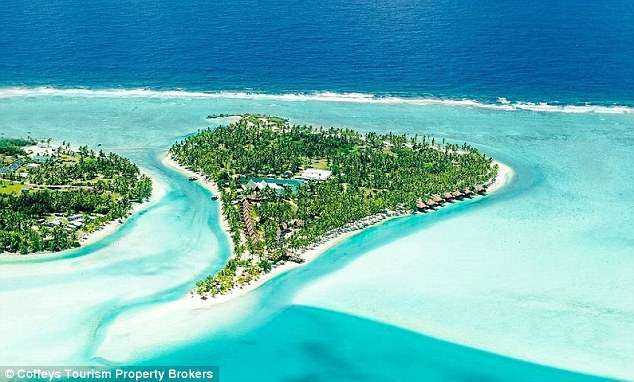 Resort Aitutaki Private Island nằm trên hòn đảo Akitua thuộc quần đảo Cook ở Nam Thái Bình Dương. Hiện resort đang được rao bán trên thị trường với giá 22 triệu USD.