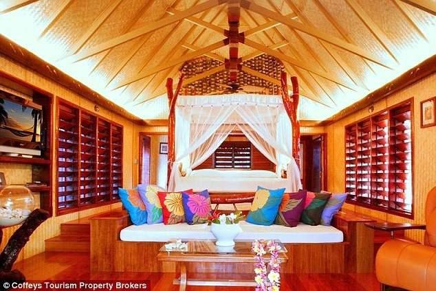 Phong cách kiến trúc - nội thất của resort mang vẻ đẹp truyền thống của văn hóa bản địa.