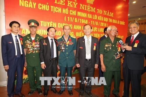 Các đại biểu dự Lễ kỷ niệm. Ảnh: Dương Giang/TTXVN