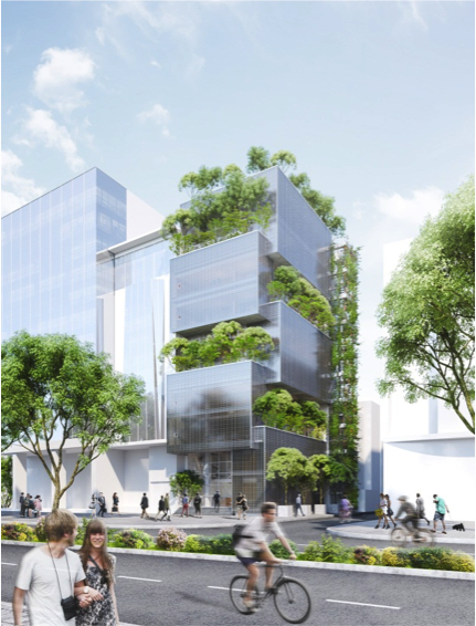 Trụ sở văn phòng Nanoco - Hạng mục văn phòng/ Dự án trong tương lai. Diện tích khu vực: 295m2 GFA: 1.990m2 Trụ sở chính văn phòng Nanoco là tòa nhà 10 tầng được thiết kế bao gồm 4 tầng dưới là phòng trưng bày sản phẩm và 6 tầng trên dành cho văn phòng. Khác với các phòng trưng bày bình thường, không gian ở đây đã được thiết kế để kết hợp với không gian công cộng có thể tổ chức sự kiện cho các hoạt động sáng tạo.