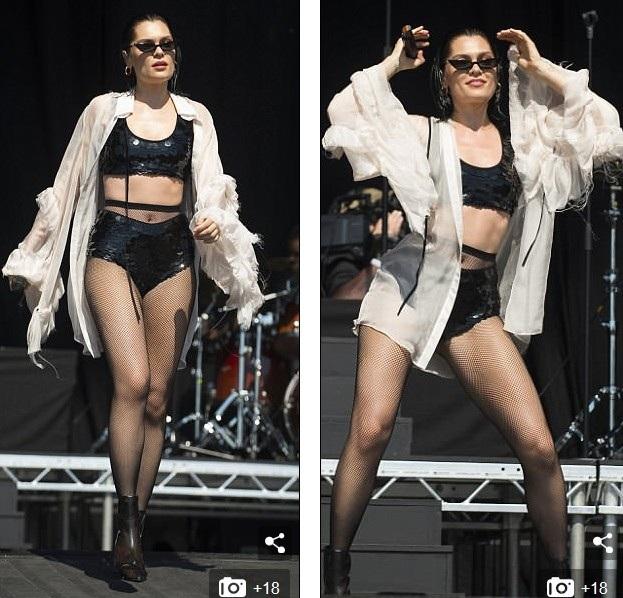Jessie J mặc gợi cảm trên sân khấu - 10