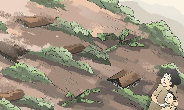 """""""Dinh thự """"đẳng cấp"""" ghế bàn – Bản làng lũ lụt hoang tàn, dân ơi!"""" - 1"""
