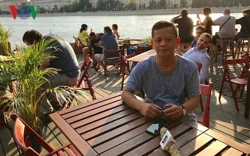 Ông Trần Mạnh Hùng chủ quán Bổ.