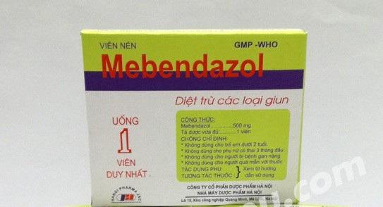 Thu hồi 1 loại thuốc tẩy giun nội - 1