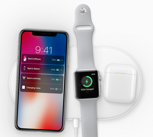 Cả iPhone, Apple Watch và AirPods đều có khả năng sạc không dây trên cùng chiếc AirPower