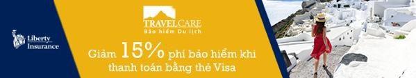 Vui đi xa, vẹn khoảnh khắc hè với chương trình mua Bảo hiểm Du lịch TravelCare qua website được giảm đến 15% phí khi thanh toán bằng thẻ Visa.