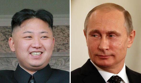 Nhà lãnh đạo Kim Jong-un và Tổng thống Putin (Ảnh: Getty)