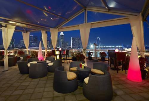 Một góc nhà hàng The Landing Point, nơi chuyên phục vụ các món ăn châu Á, của khách sạn. (Ảnh: Telegraph)