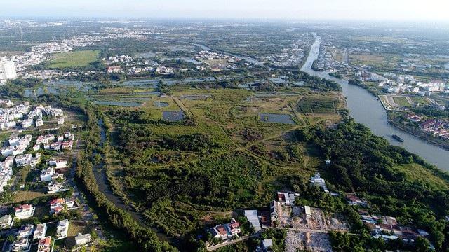 Khu đất hơn 32ha tại xã Phước Kiển, huyện Nhà Bè được chuyển nhượng với giá bèo