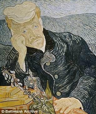 """Bức """"Chân dung bác sĩ Gachet"""", người bác sĩ chịu trách nhiệm chăm sóc cho Van Gogh trong những ngày tháng cuối đời."""