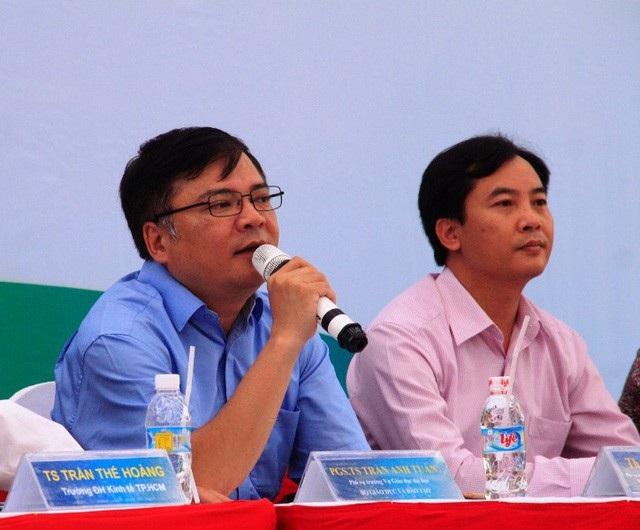 PGS.TS Trần Anh Tuấn - Phó Vụ trưởng Vụ Giáo dục ĐH (Bộ GD-ĐT).