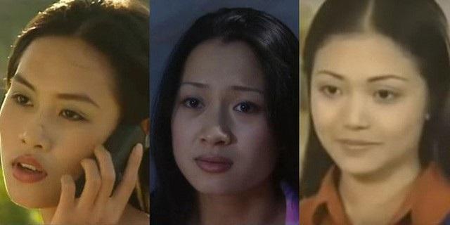 Từ trái qua: Hà Hương trong vai Nguyệt, Thu Nga trong vai Thương và Kiều Anh vai Nhung trong phim Phía trước là bầu trời.