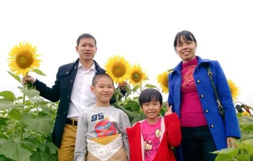 Gia đình thầy Đặng Quang Tám