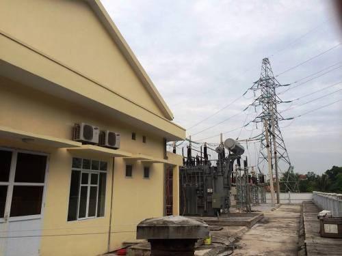 Đất của gia đình bà Bảnh được thu hồi làm trạm biến áp 110KV đã hoàn thiện đưa vào sử dụng.