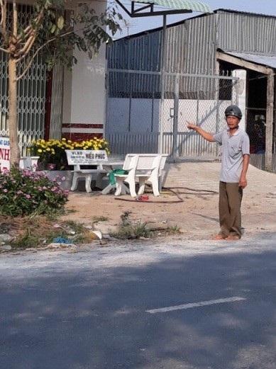 Tháng 11/2017, ông Lê Văn Dữ đến thăm đất thì phát hiện người khác cất nhà trên đất của mình