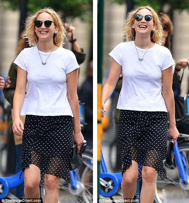 Nữ diễn viên 27 tuổi thực sự đang sống trong tình yêu và hạnh phúc.