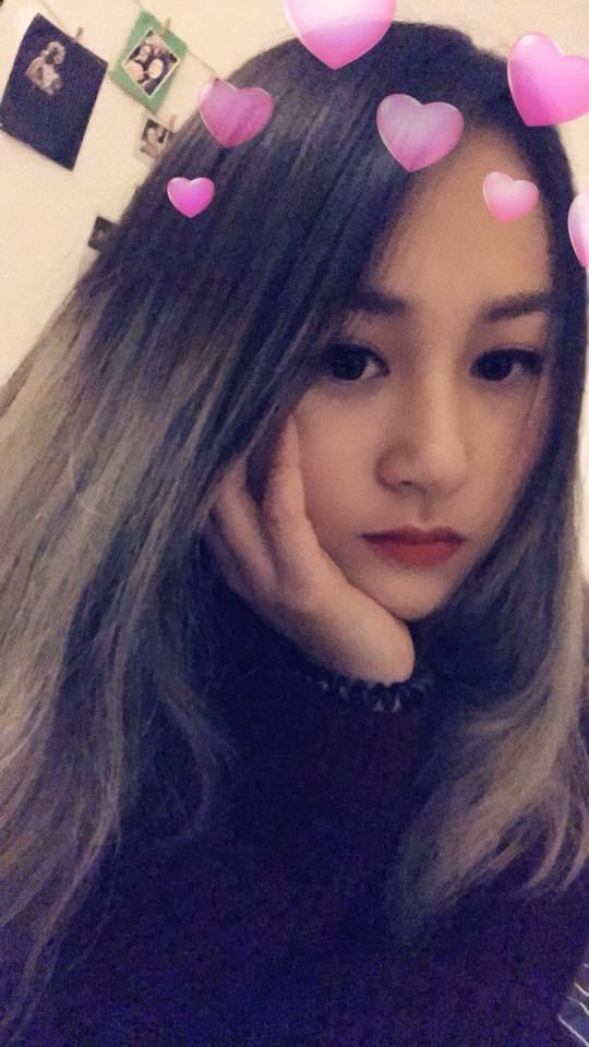 Thiện Thanh sở hữu khuôn mặt xinh xắn như hot girl và từng chia sẻ rằng bản thân mình có nhiều nét tính cách giống bố Quốc Trung.