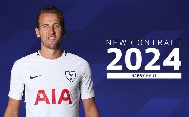 Harry Kane ký hợp đồng mới với Tottenham