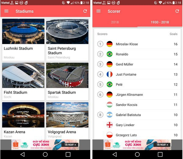 Lịch thi đấu thông minh - Ứng dụng không thể thiếu trên smartphone trong mùa World Cup - 7