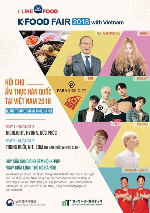 Hội chợ ẩm thực Hàn Quốc 2018 - 1