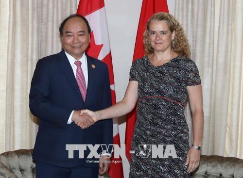 Thủ tướng Nguyễn Xuân Phúc hội kiến Toàn quyền Canada - 2