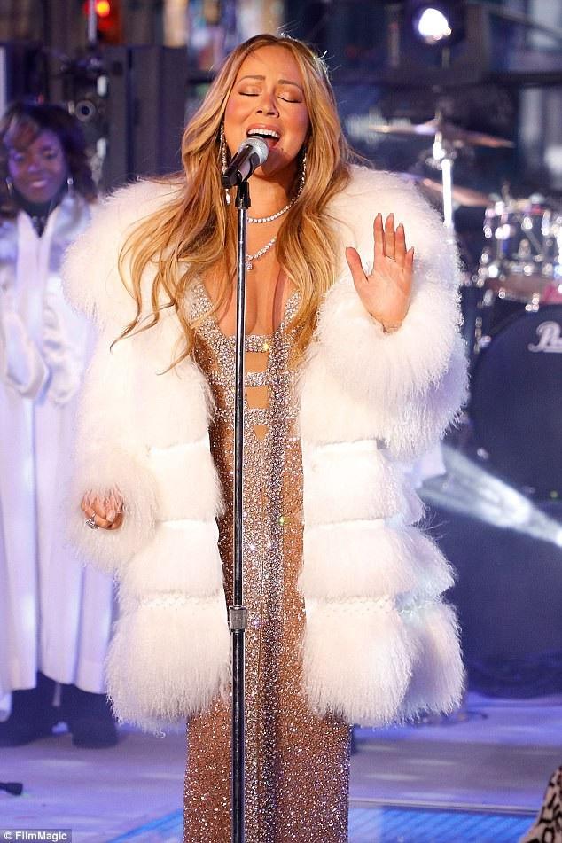 Nữ ca sĩ đã không để sự cố của năm ngoái làm ảnh hưởng tới tâm lý của năm nay.