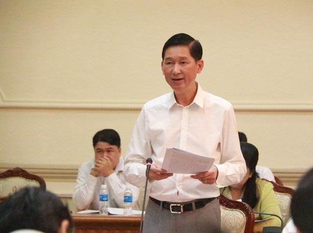 Phó Chủ tịch UBND TPHCM Trần Vĩnh Tuyến cho biết thành phố sẽ điều chỉnh quy hoạch thoát nước