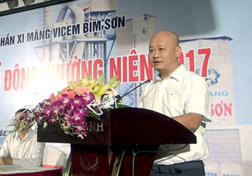 Ông Trần Việt Thắng, Ủy viên Ban chấp hành Đảng bộ Khối doanh nghiệp Trung ương, Phó Bí thư Đảng ủy Tổng công ty Công nghiệp Xi măng Việt Nam (Vicem).