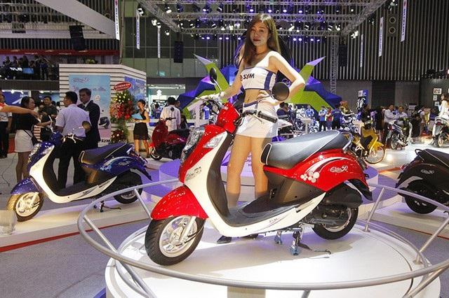 Thị trường xe máy Việt Nam hầu hết là các mẫu xe nhỏ dưới 150cc và đều được sản xuất trong nước.