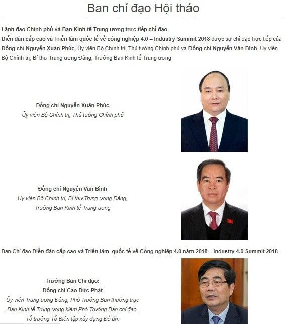 Hà Nội tổ chức Diễn đàn cấp cao và Triển lãm quốc tế về Công nghiệp 4.0 - 1