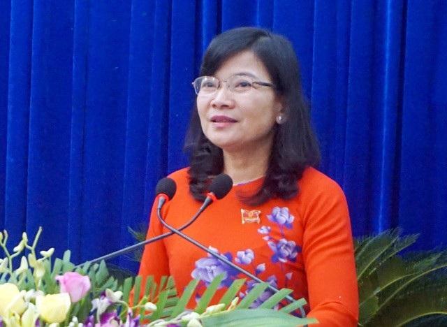 Bà Lâm Thị Sang- Chánh văn phòng Tỉnh ủy Bạc Liêu được bầu làm Phó Chủ tịch UBND tỉnh Bạc Liêu nhiệm kỳ 2016 - 2021.