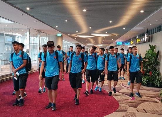 U19 Việt Nam về nước sau thất bại ở giải U19 Đông Nam Á