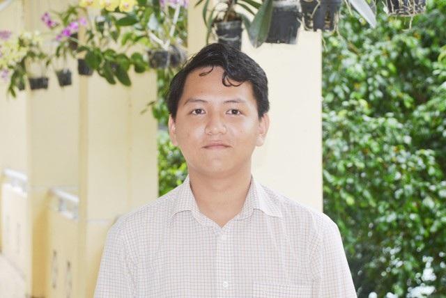 Nam sinh Phạm Dương Hoàng Khải.